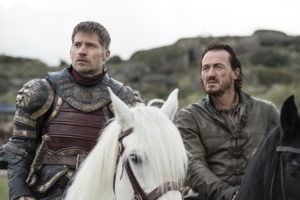 the spoils of war game of thrones jaime lannister bronn