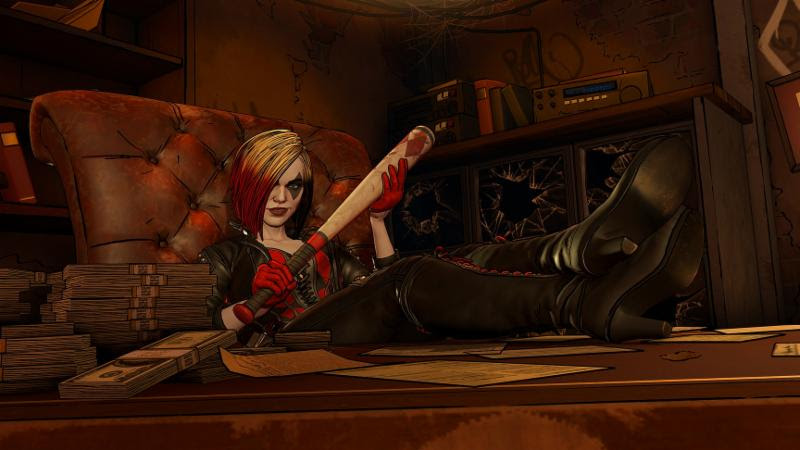 Harley Quinn The Pact Batman the Enemy Within Telltale Games