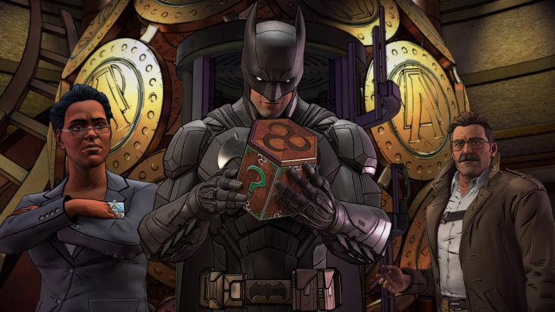 Telltale Batman The Enemy Within The Enigma