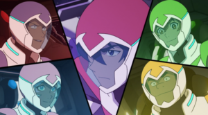 Voltron Legendary Defender season 3 new team
