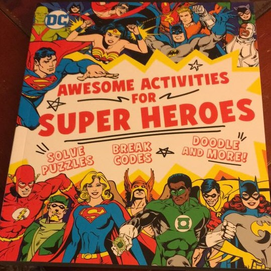 DC Comics Awesome Activities for Super Heroes Sarah Parvis Review Downtown Bookworks