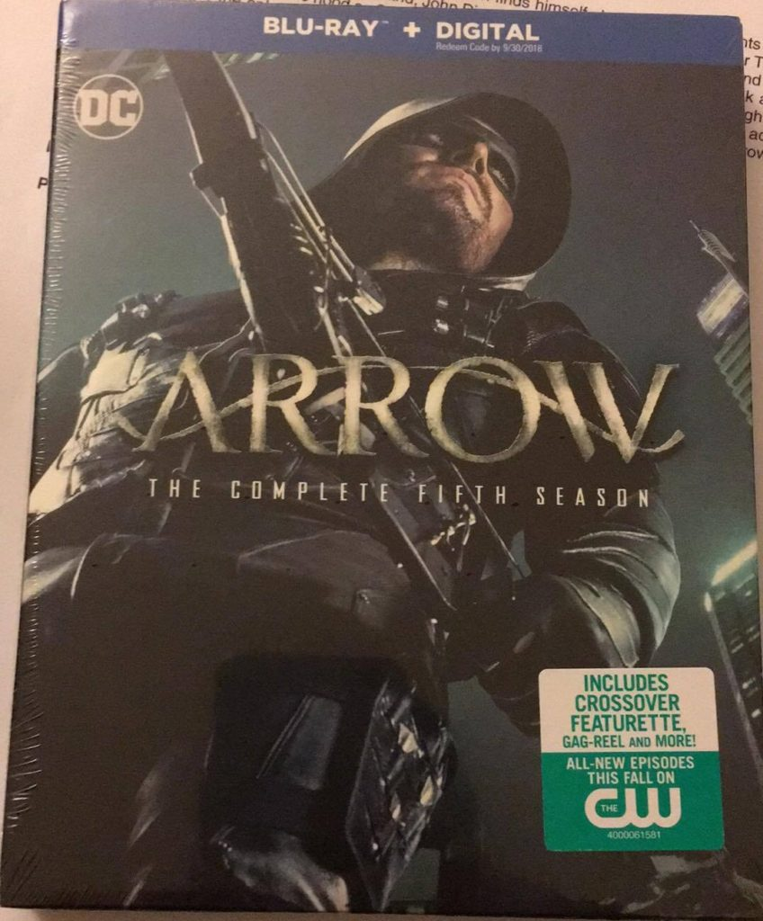 Arrow Season 5 Blu-ray DVD review Warner Bros Home Entertainment