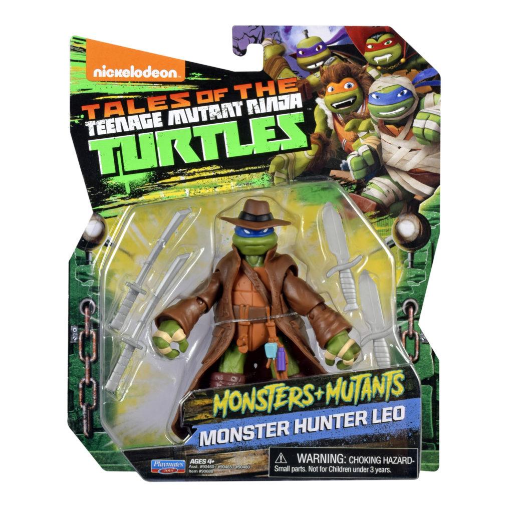 Monster-themed Teenage Mutant Ninja Turtles Leo Playmates Toys