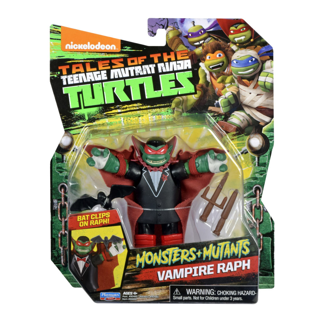 Monster-themed Teenage Mutant Ninja Turtles Raph Playmates Toys