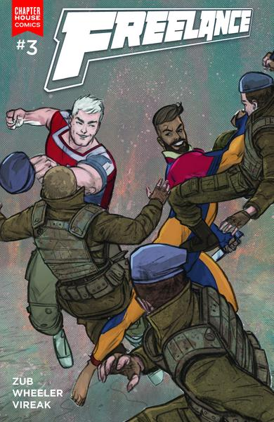 Freelance Issue 3 gay comic book series