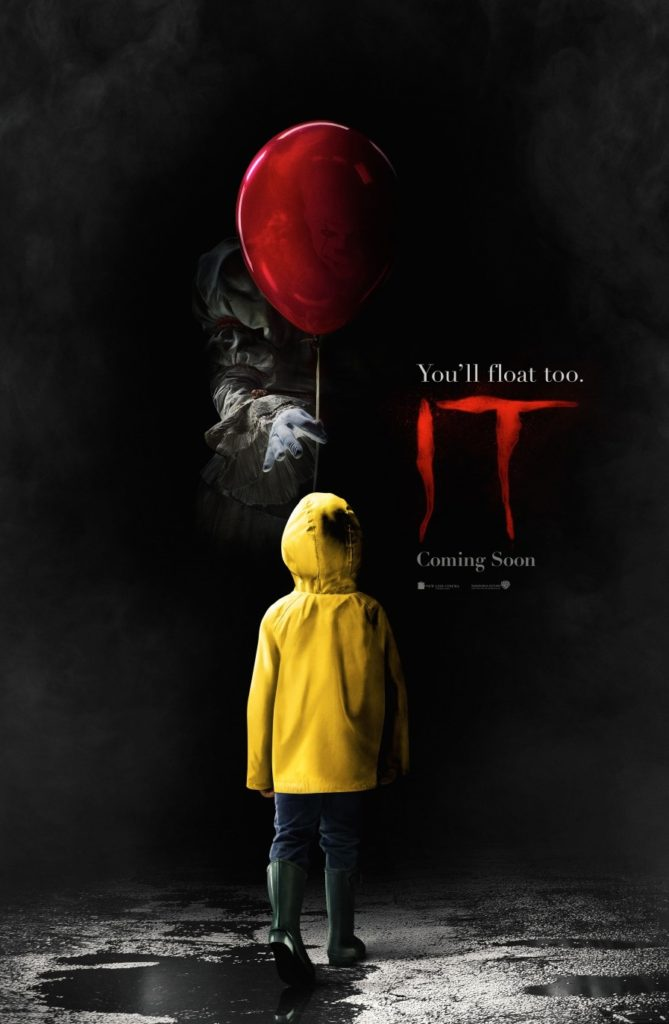 IT Movie Stephen King Film poster 2017