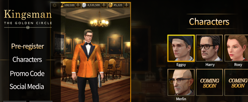 Kingsman The Golden Circle game