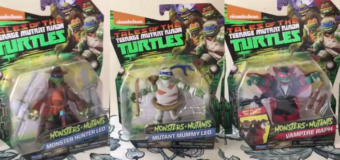 Playmates Toys Teenage Mutant Ninja Turtles Monsters + Mutants Review