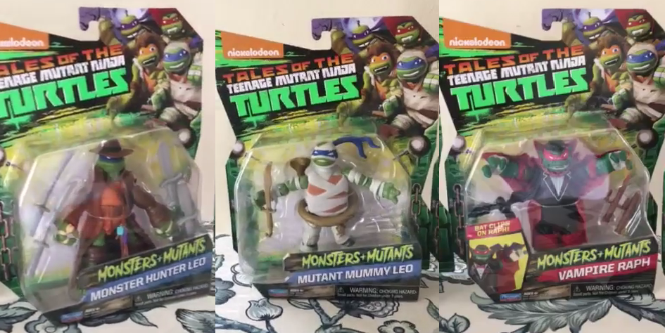 Monsters + Mutants Playmates Toys TMNT Review