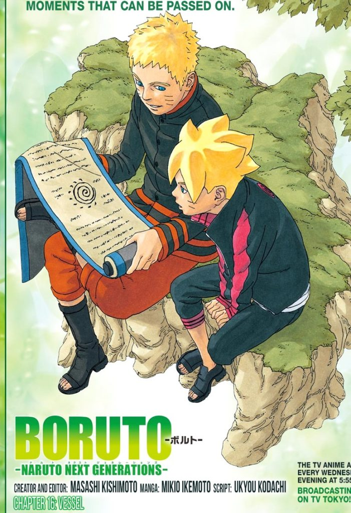 Boruto Naruto Next Generations Issue 16 review The Vessel