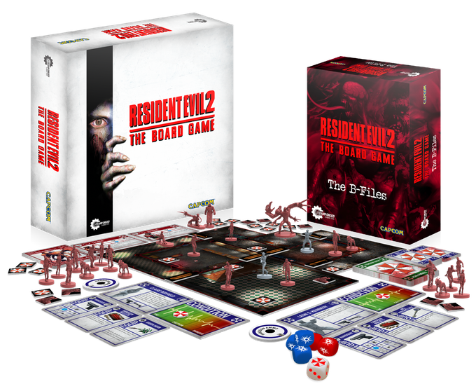 Resident Evil 2 board game capcom steamforge games