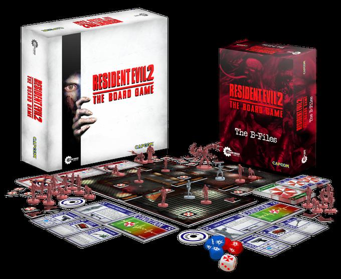 Resident Evil 2 board game capcom steamforge games