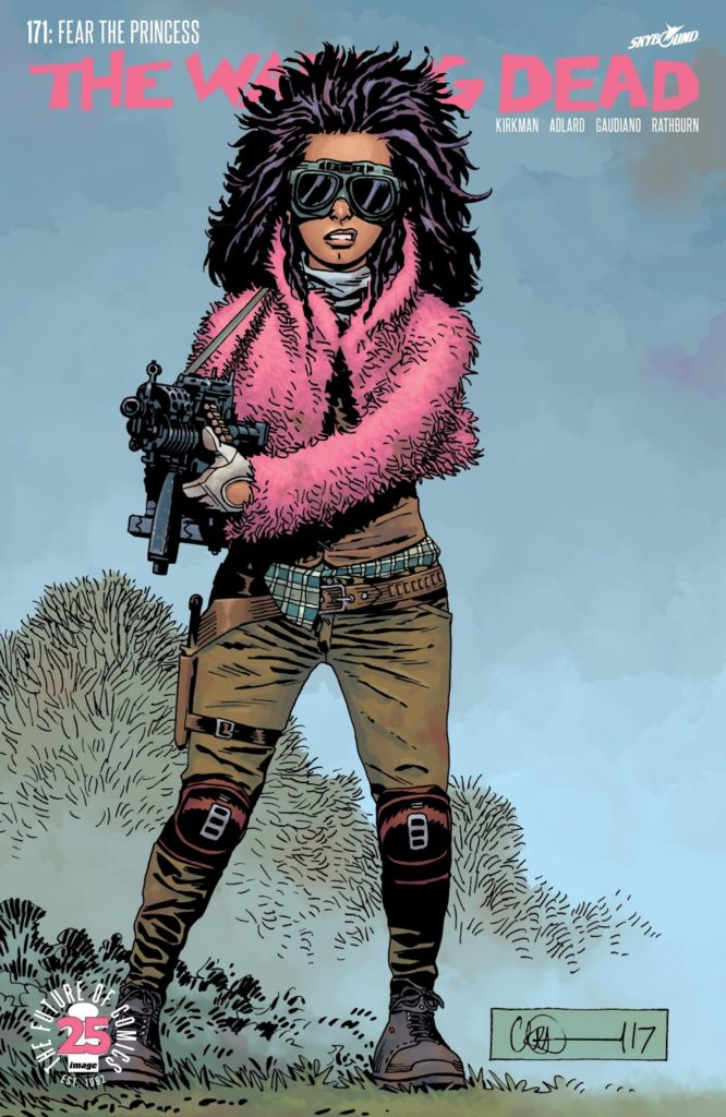 The Walking Dead Issue 171 Princess