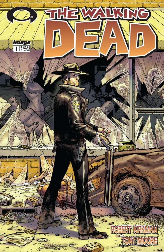 The Walking Dead Issue 1 comic book