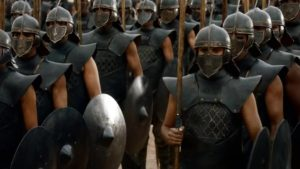 game of toxic masculinity unsullied game of thrones