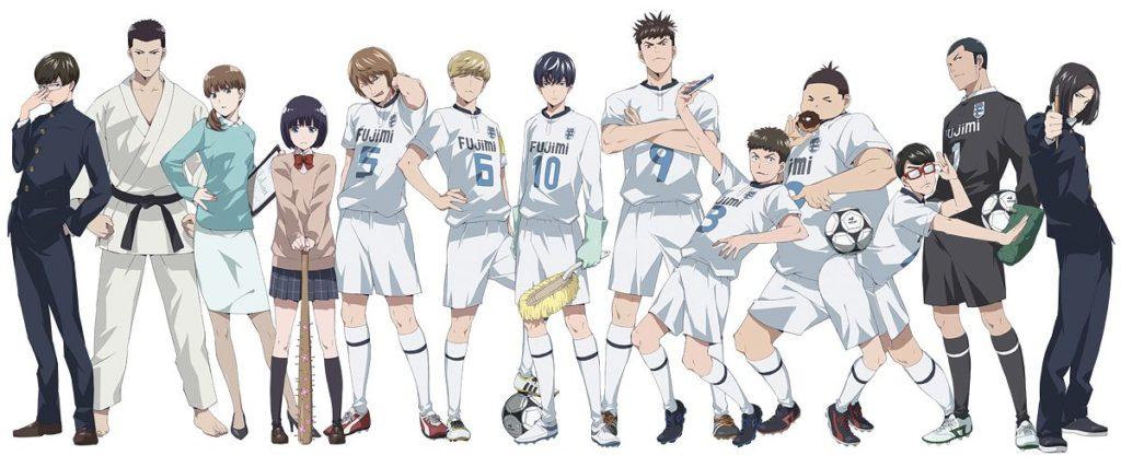 Aoyama-Kun characters
