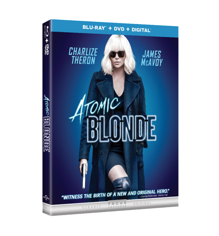 Atomic Blonde Blu-ray DVD 4K Ultra HD release date