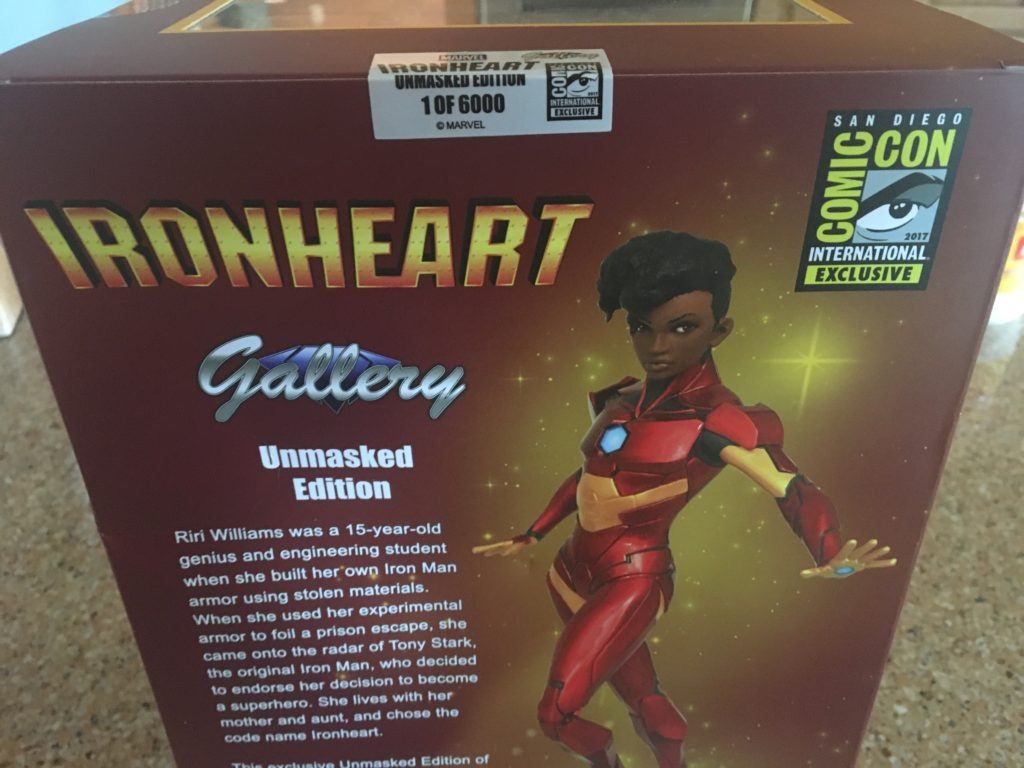 diamond select toys ironheart