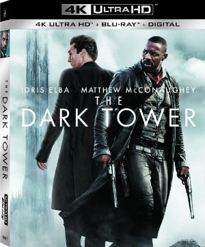 The Dark Tower Blu-ray DVD 4K Ultra HD release Sony