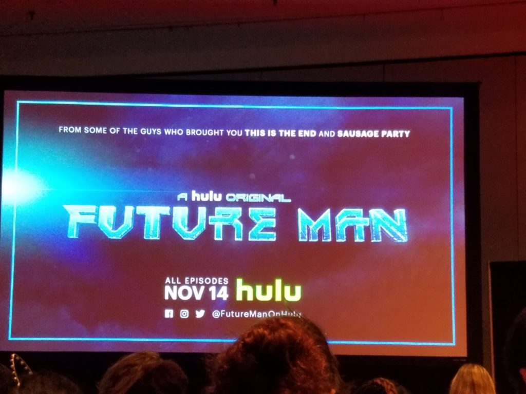 Future Man screen