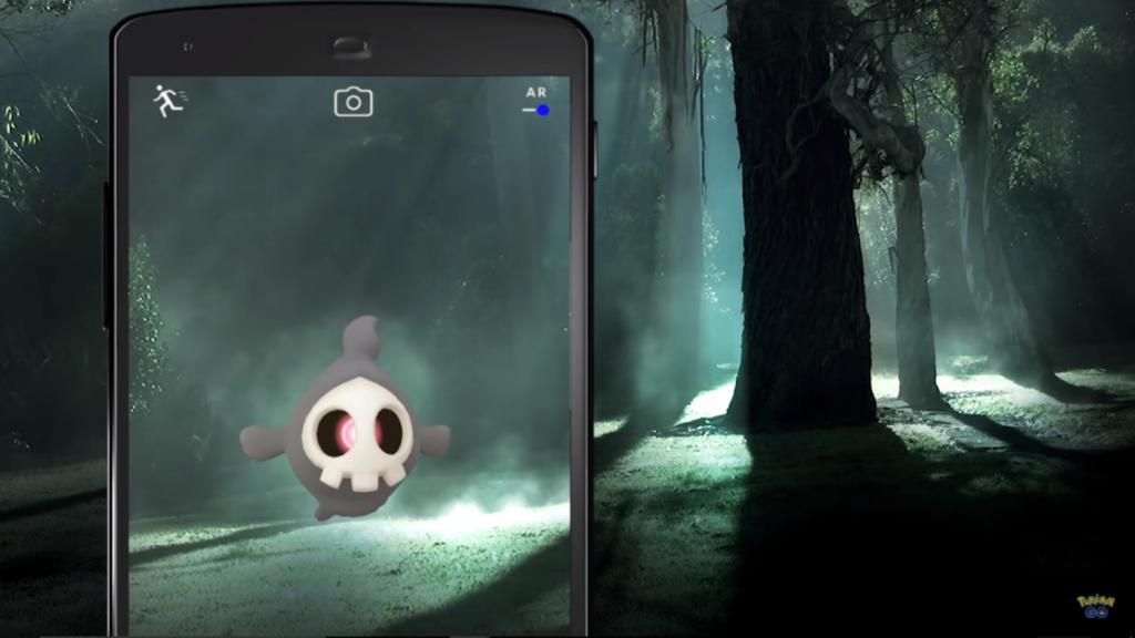 Pokemon GO Halloween pic courtesy of Niantic