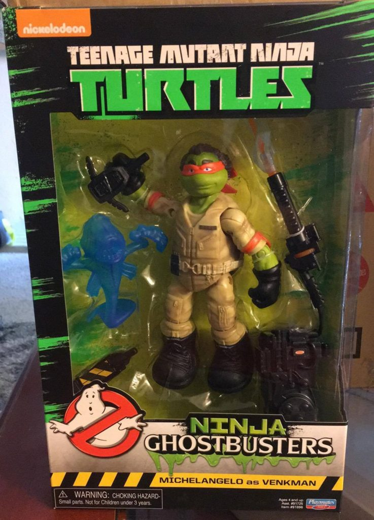 Ninja Ghostbusters Playmates Toys review