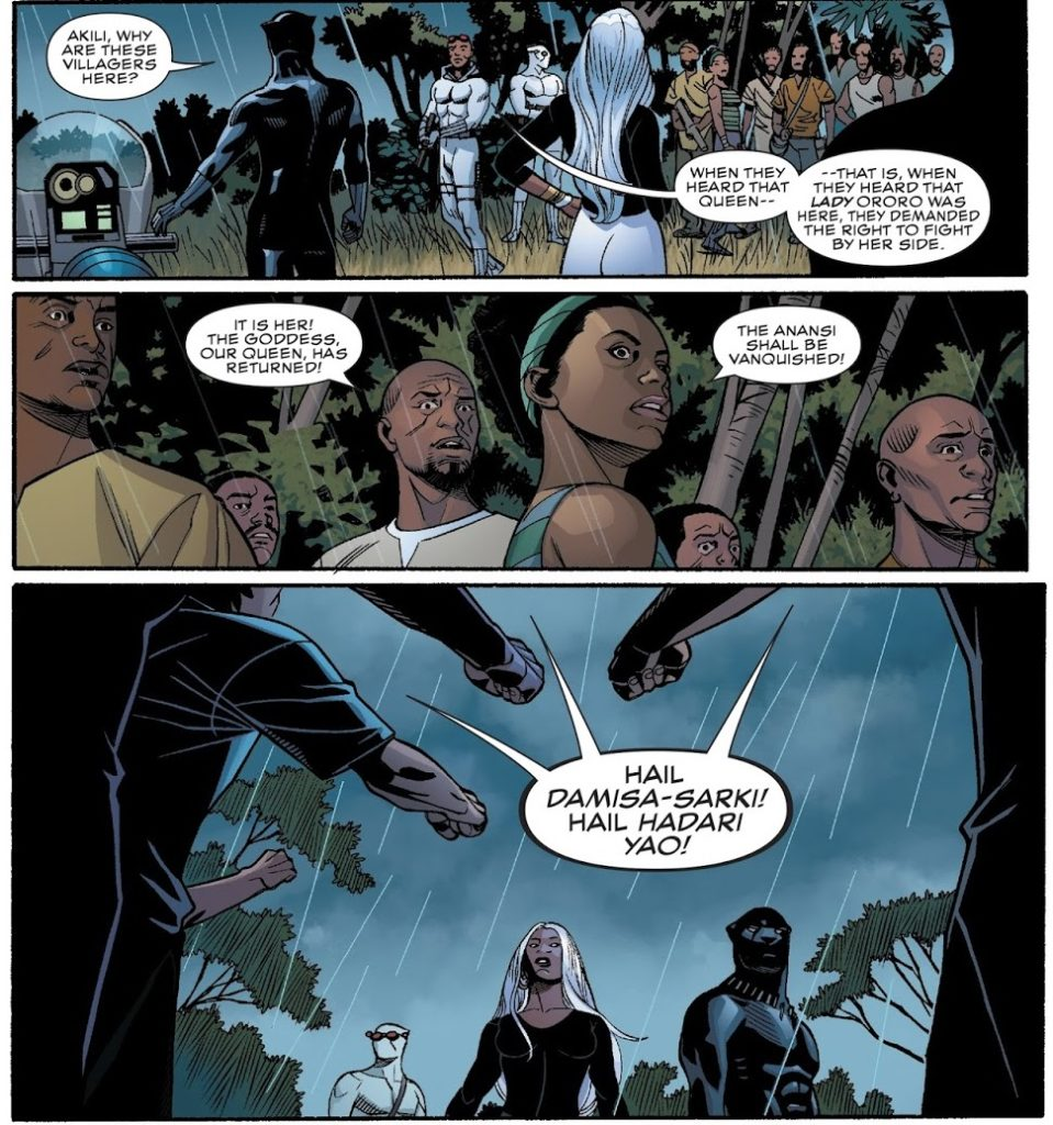 Black Panther 17 Page 11 Storm Coates