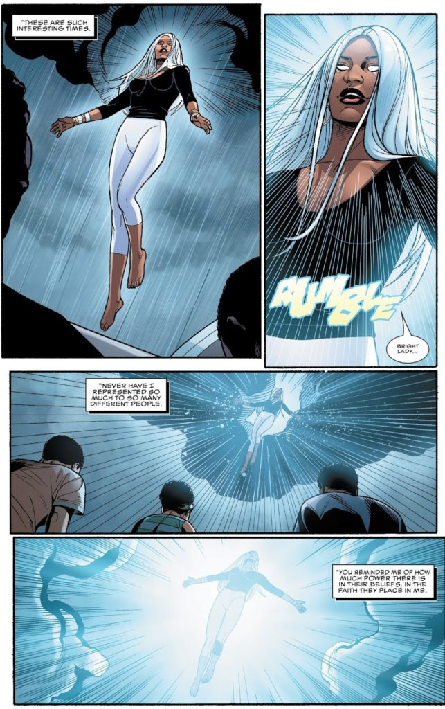 Black Panther 17 page 23 Storm Coates