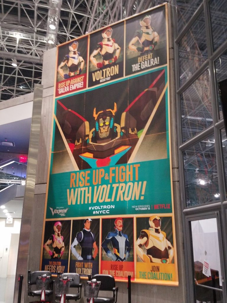 Voltron at NYCC posters
