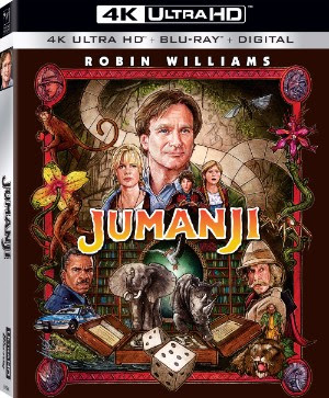 Jumanji 4K ultra hd release sony pictures
