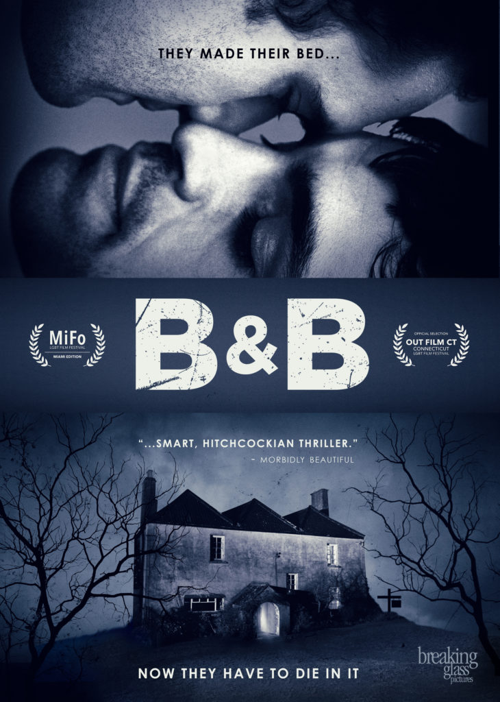 B&B film review Tom Bateman Sean Teale lgbtqia film