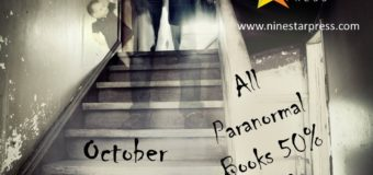 NineStar Press Is Running A 50% Off Halloween Sale On Queer Paranormal Books!