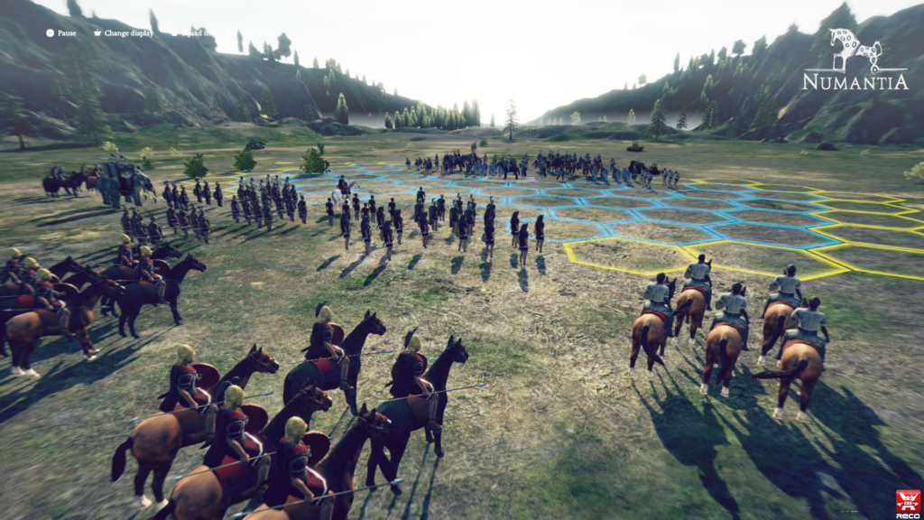 Numantia game release RECTOtechnology