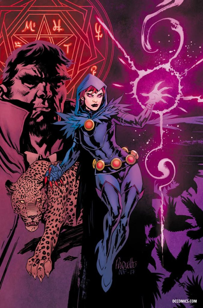 Raven Daughter of Darkness DC Comics Marv Wolfman