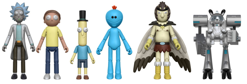 Rick and Morty Action Figures Cartoon Network