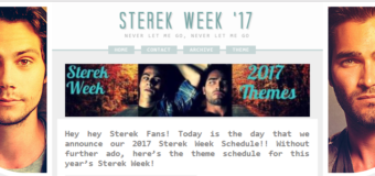 "Themes Announced For ""Sterek Week"" October 25 – 31, 2017! #EternalSterek"