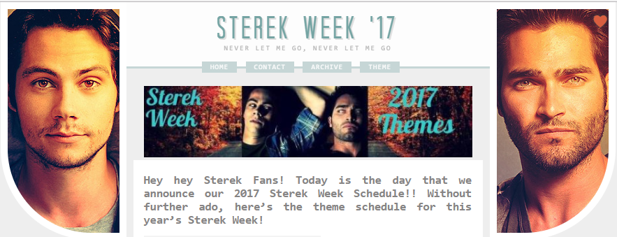 Sterek Week 2017 October