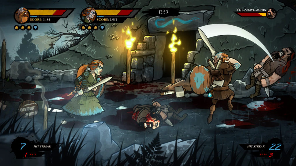 Wulverblade Nintendo Switch Fully Illustrated Darkwind Media
