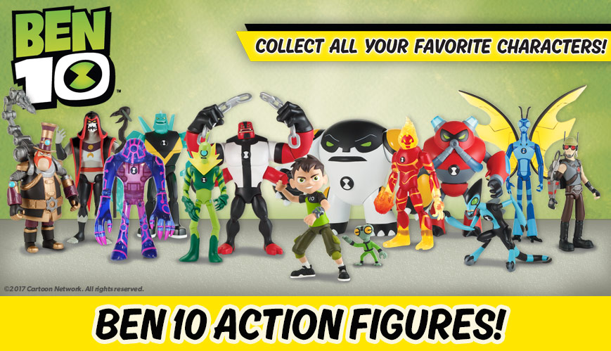 Cartoon Network Ben 10 Action Figures