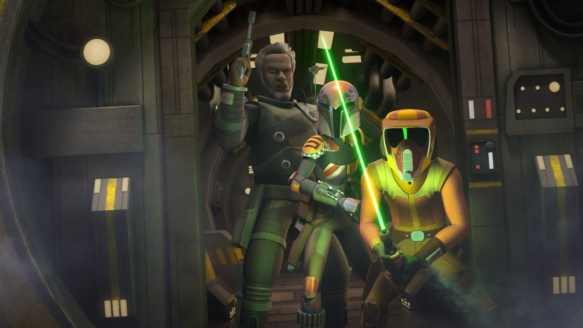 in the name of the rebellion star wars rebels ezra sabine saw