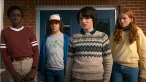stranger things 2 netflix lucas dustin mike max