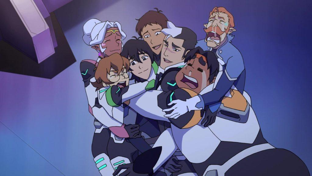 voltron season 4 group hug