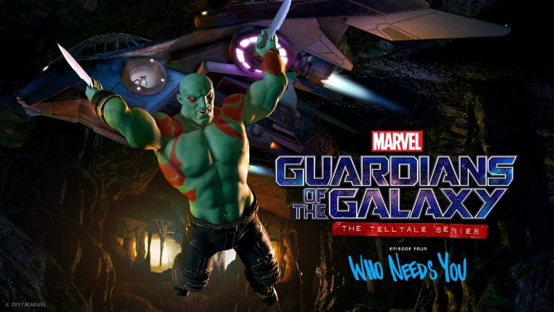 Who Needs You Marvel's Guardians of the Galaxy Telltale Series Episode 4