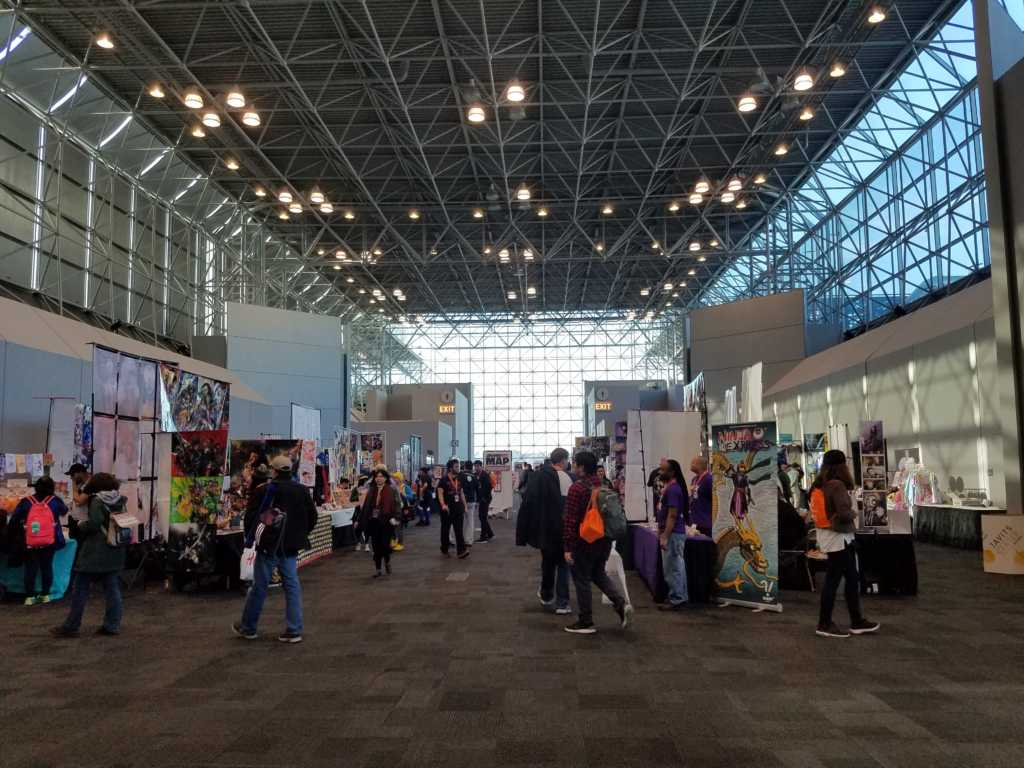 AnimeNYC 2017 artists alley