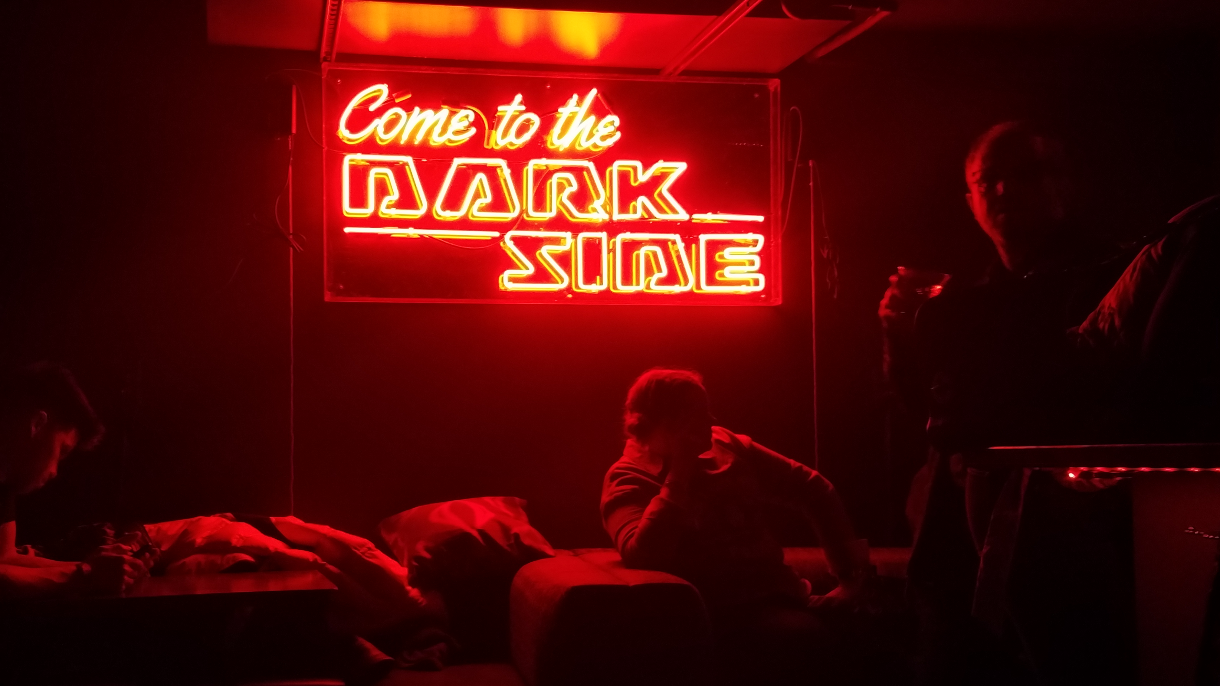 darkside bar Star wars popup