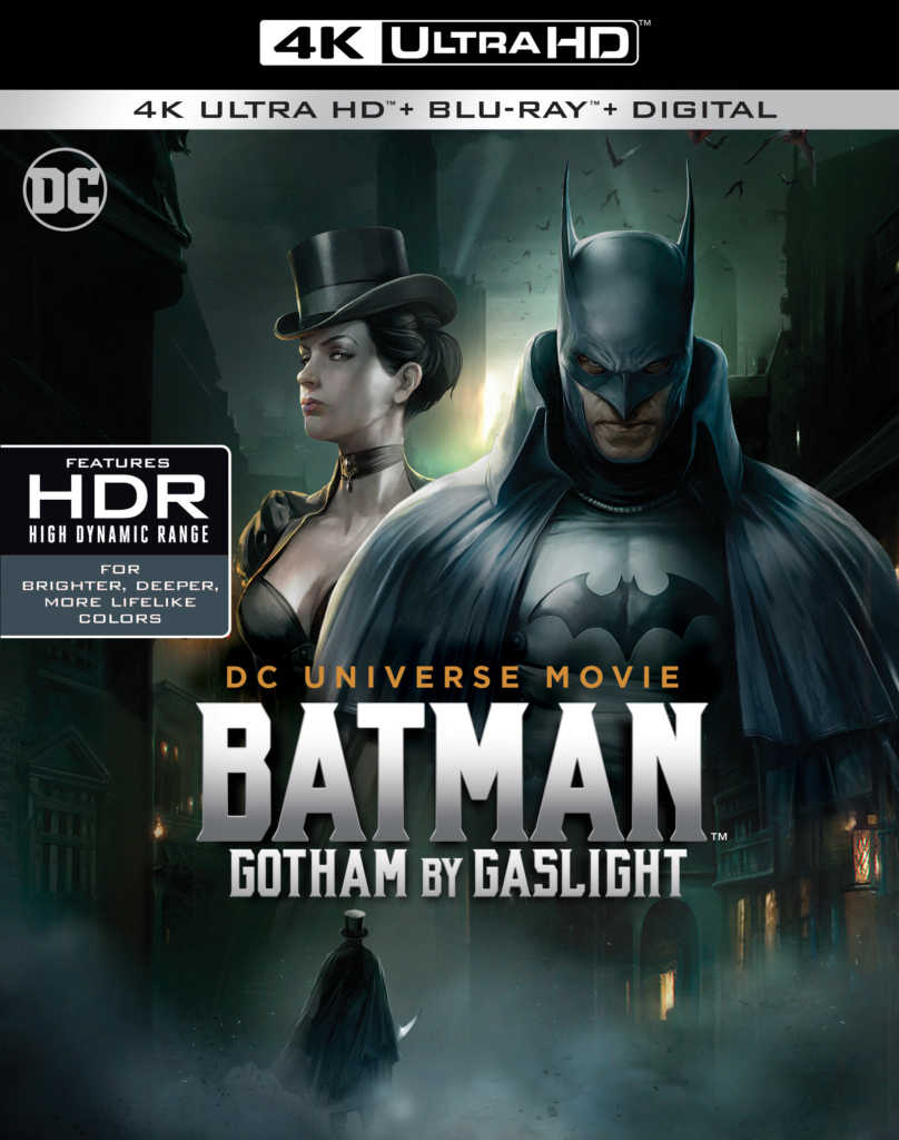 Batman Gotham by Gaslight Warner Bros release Blu-ray DVD 4K Gotham by Gaslight 4K Ultra HD Blu-ray review