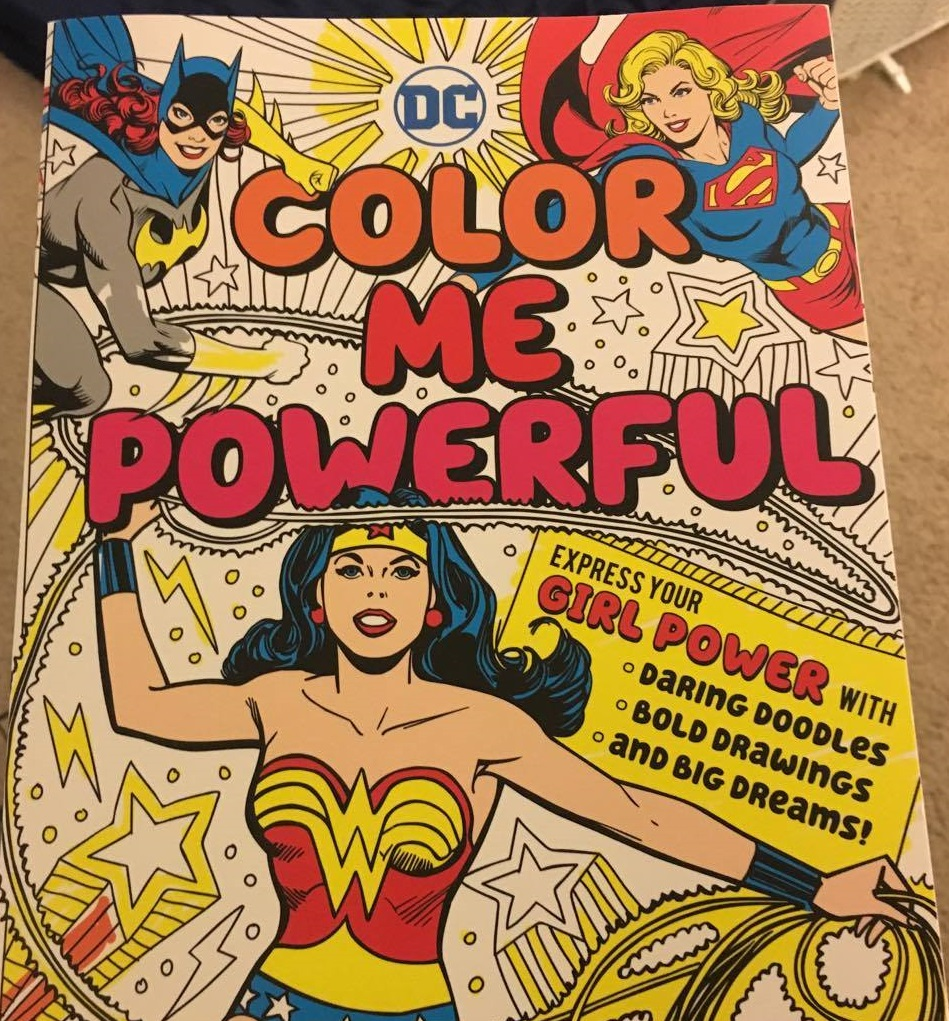 Color Me Powerful Downtown Bookworks DC Comics review