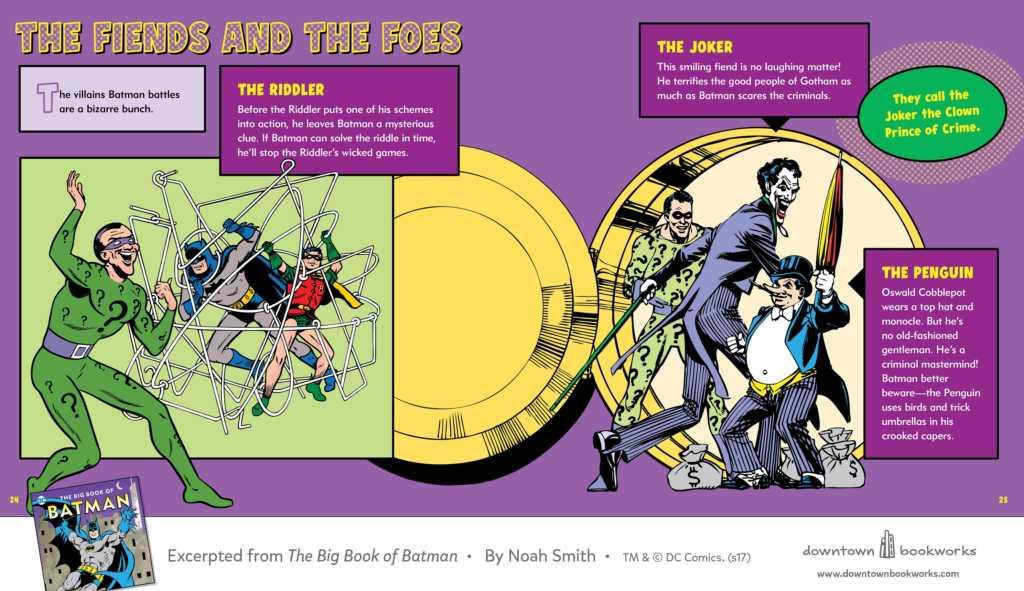 DC Comics: The Big Book of Batman Downtown Bookworks review
