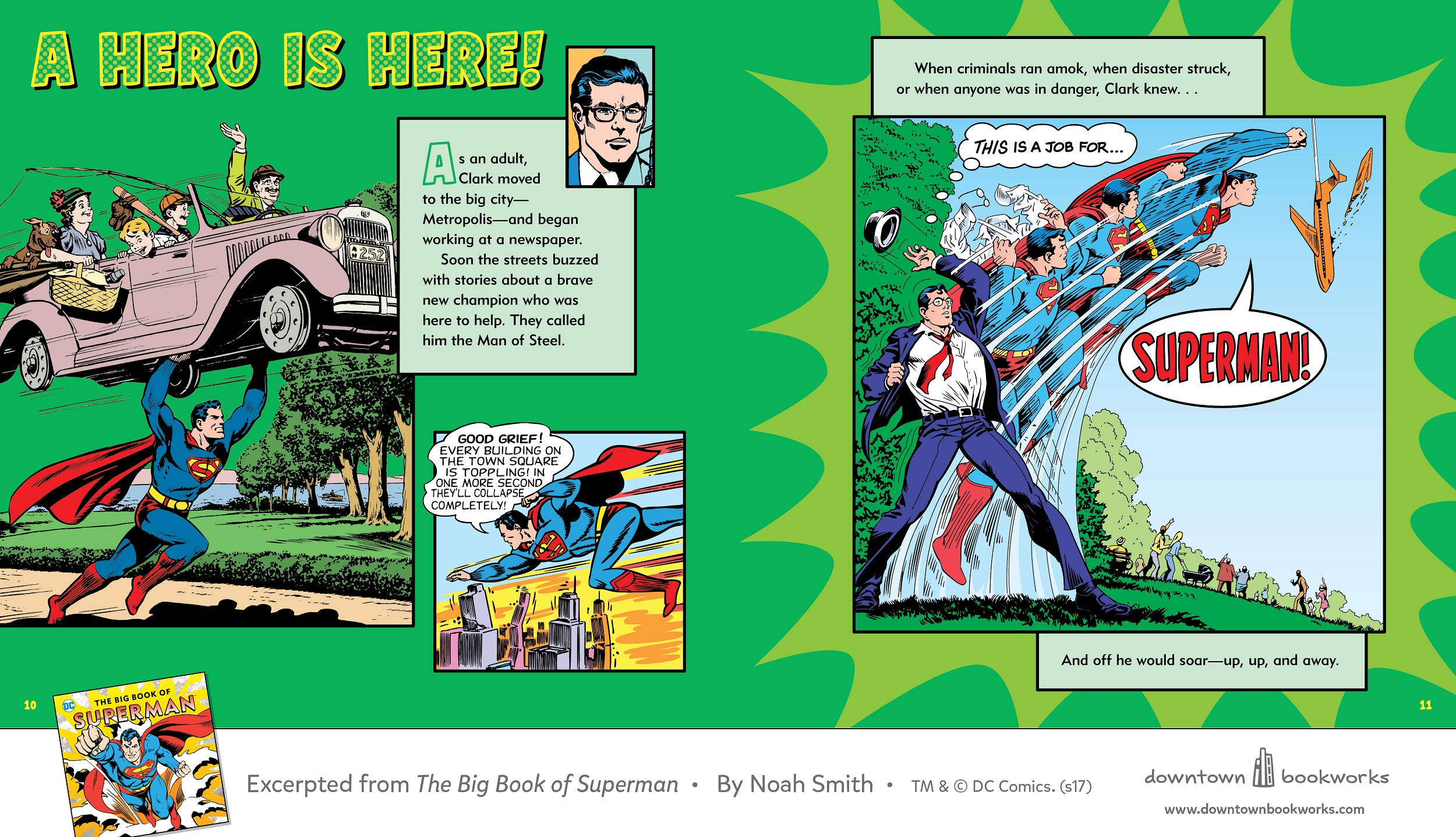 Clark Kent The Big Book of Superman review Downtown Bookworks