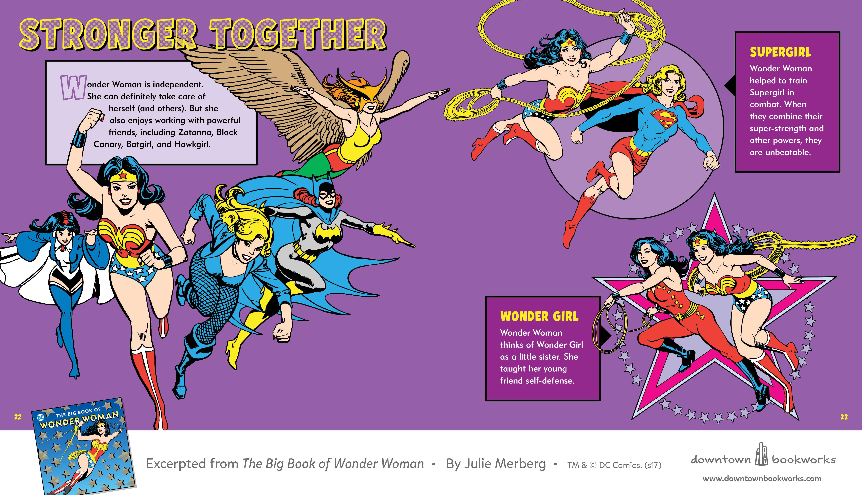dc comics the big book of wonder woman review - Book Of Colors